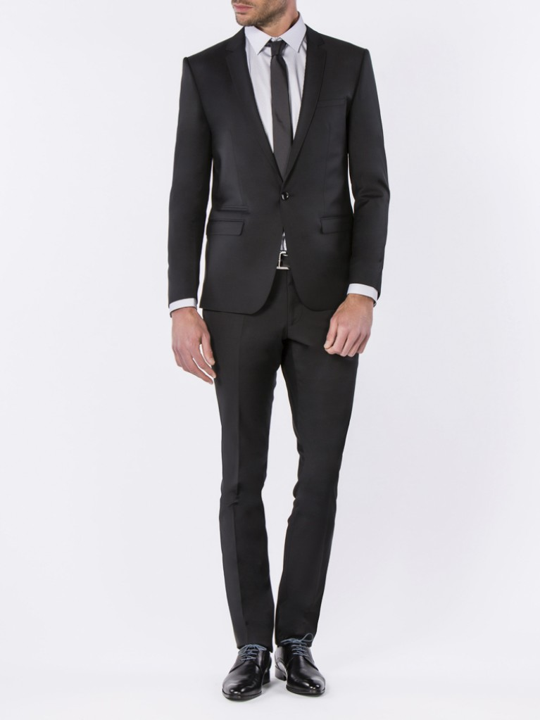 Costume Slim Fit Naples Noir