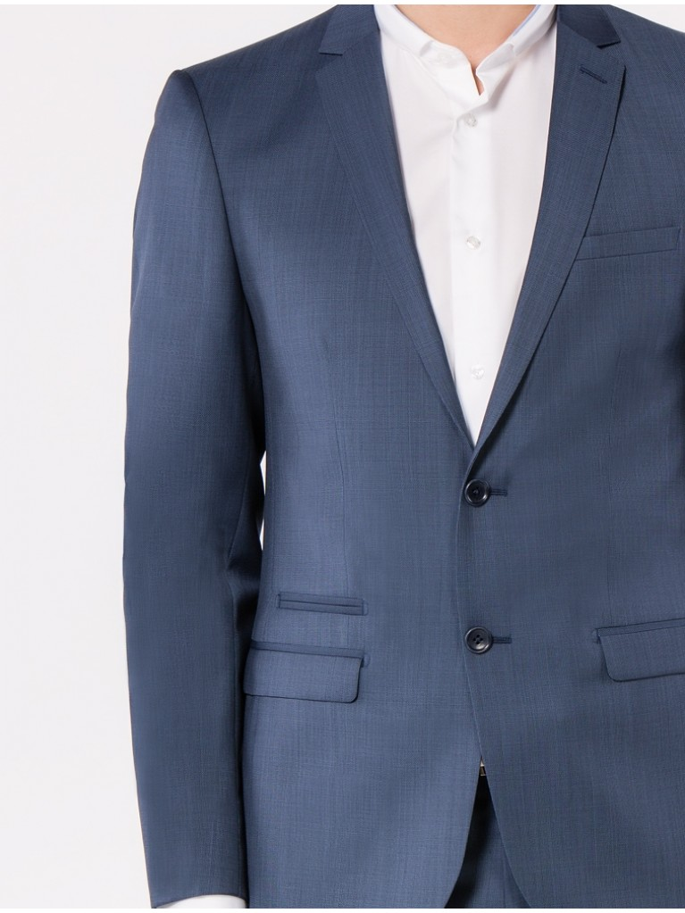 Costume Slim Fit Asti Bleu gris