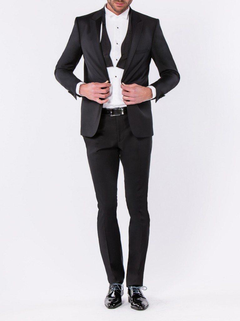 Smocking Slim Fit Matera Noir