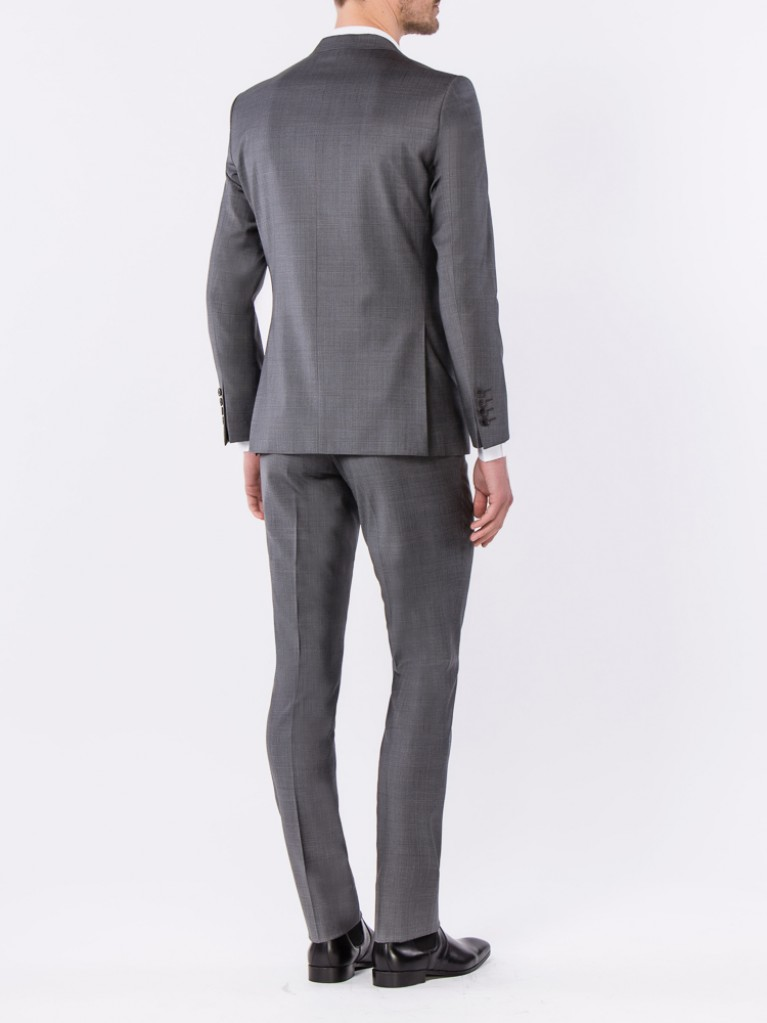Costume Slim Fit Bergame Gris