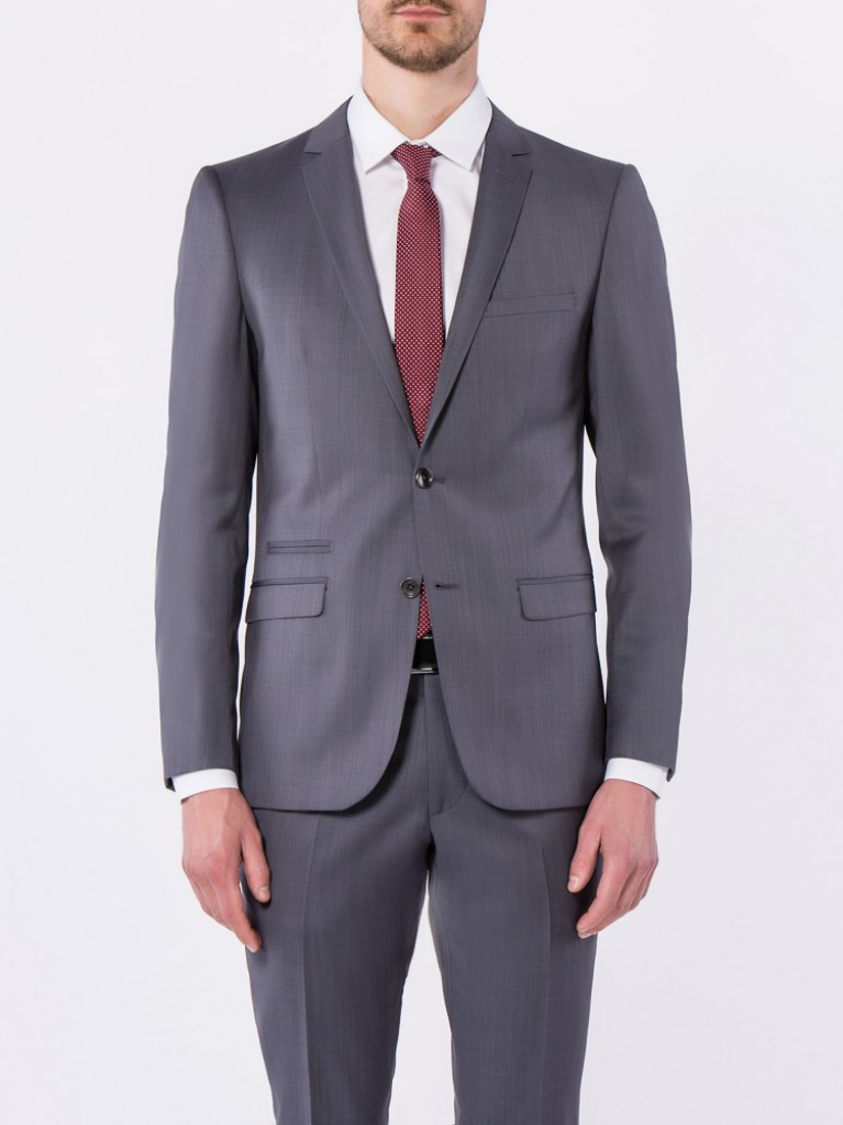 Costume Slim Fit Asti Gris bleu