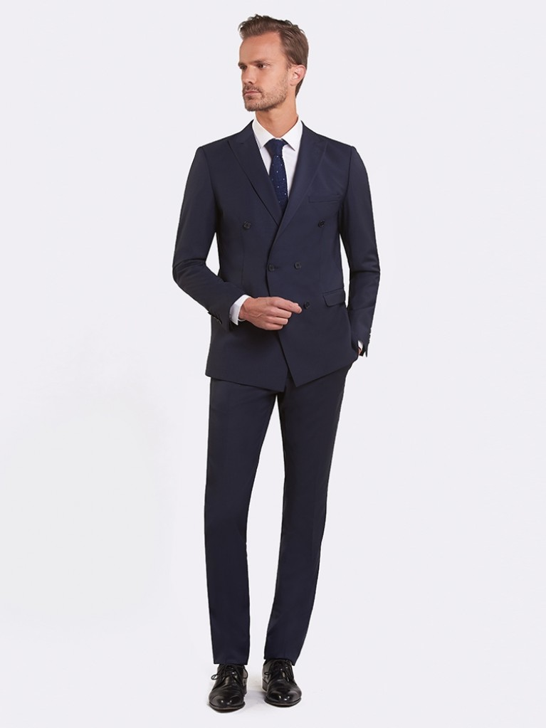 Costume Slim Fit Merida bleu