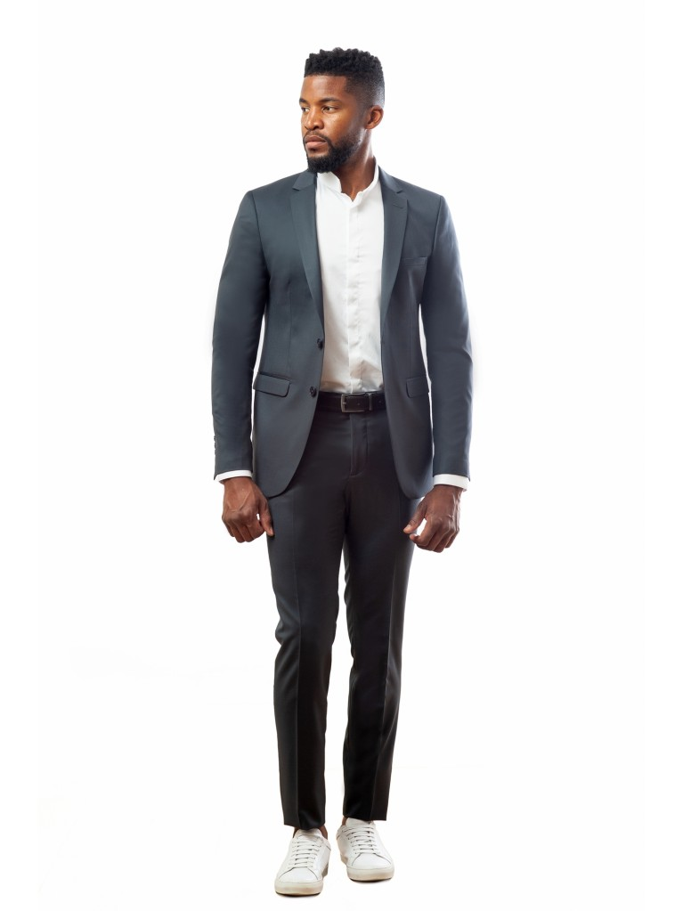 Costume Slim Fit Florence - anthracite