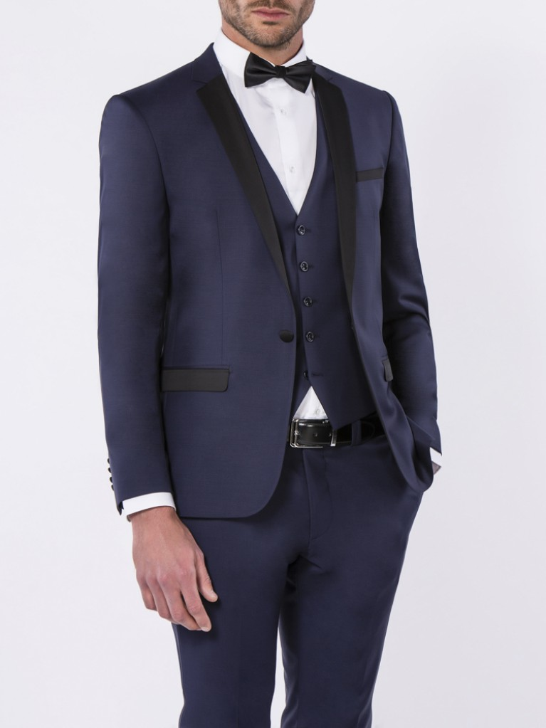 Smoking Slim Fit Venise 2 Bleu marine