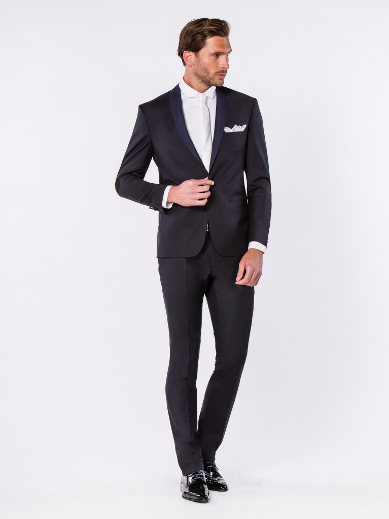 Smoking Slim Fit Toscane Bleu nuit