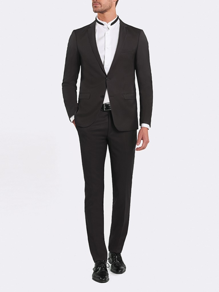 Costume Slim Fit Florence Noir