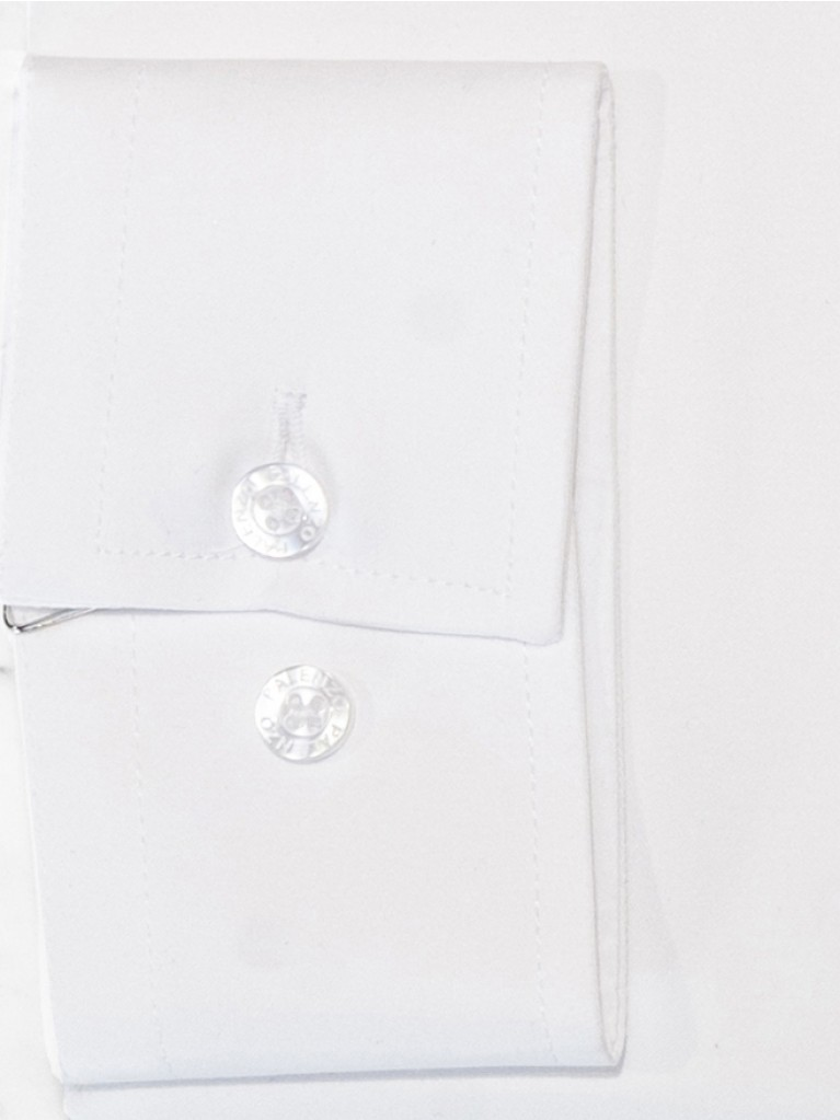 White small French collar shirt